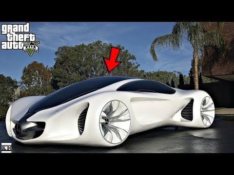 GTA 5 REAL LIFE MOD SS8 #5 MERCEDEZ BENZ BIOME CONCEPT CAR!