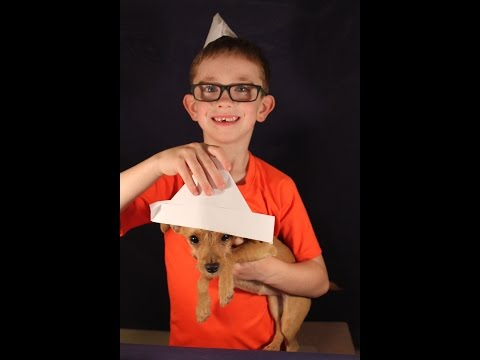 How to Make A Sailor Hat or Boat!! EliDoesItAll - Paper Hat Fold