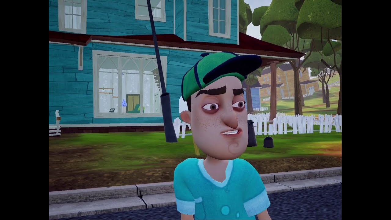 Hello Neighbor Gameplay Walkthrough - YouTube