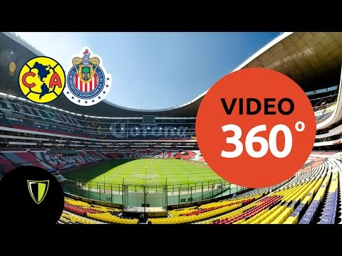 Entrando al Estadio Azteca - Video 360