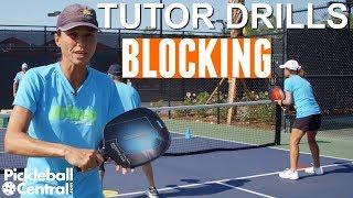 Pickleball Tutor Drills with Simone Jardim: How to Practice Block Volleys