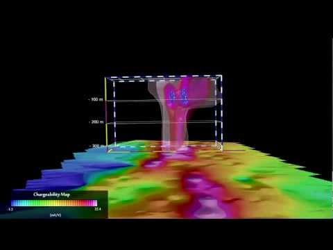Detailed 3D Presentation of Geophysical/Geological Model