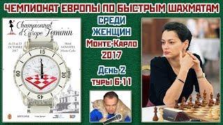 Быстрые шахматы ♕ Чемпионат Европы среди женщин