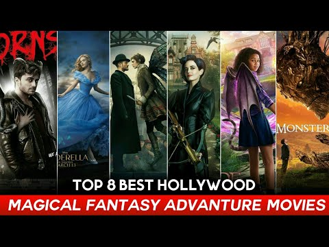 Top 8 Best Magical Fantasy & Advanture Hollywood Movies in Hindi and English
