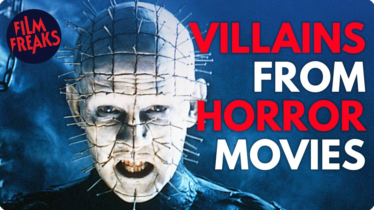 GREAT VILLAINS FROM HORROR MOVIES