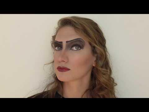 Frank N. Furter Makeup Tutorial