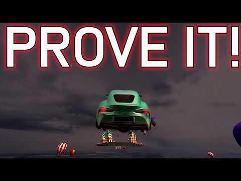 메가 램프 자동차 시뮬레이터 – 불가능한 3D 자동차 스턴트