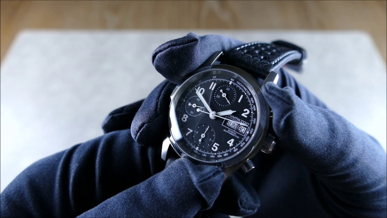 01370aedc On the Wrist, from off the Cuff: Hamilton Khaki Field Chrono Auto –  H71416733