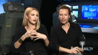 PROMETHEUS Interviews w/ Charlize Theron and Guy Pearce | BlackTree TV HD