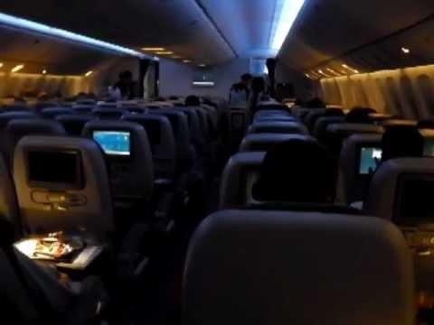 ETIHAD Airways 777-300ER |Economy class| EY0407 Bangkok ...