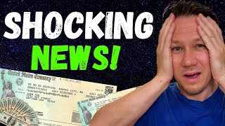 WOW! $1200 Second Stimulus Check Update & New Shut Downs Coming!