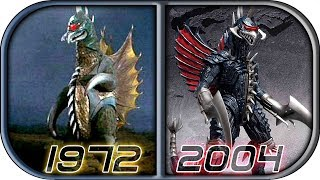 EVOLUTION of GIGAN in Movies & TV 2018 (1972-2004) Godzilla king of the monsters Gigan scene trailer