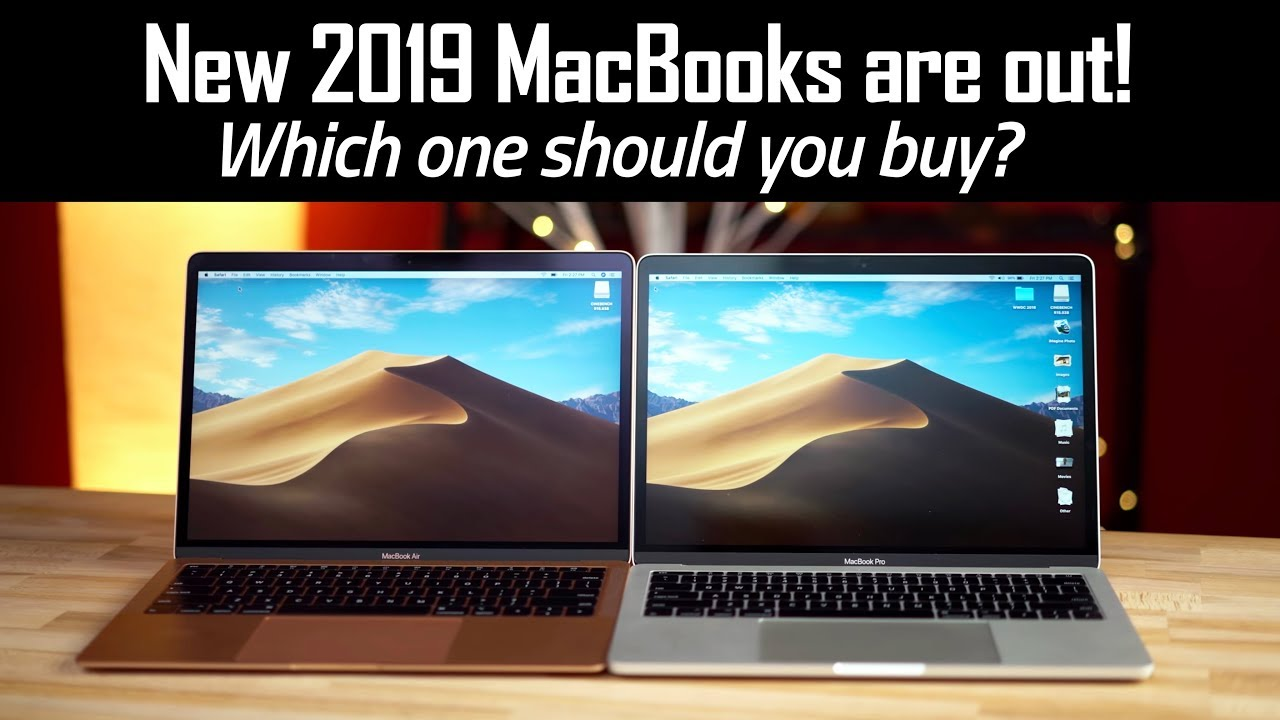 New 2019 MacBooks are HERE - MacBook Buyer's Guide