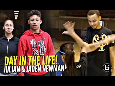 Julian & Jaden Newman: A Day In The Life!! Julian Addresses Overrated Chants & More!!