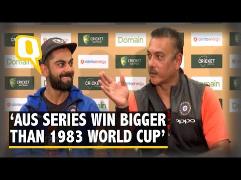 India's Historic Win in Australia Bigger Than Winning 1983 World Cup: Ravi Shastri | The Quint