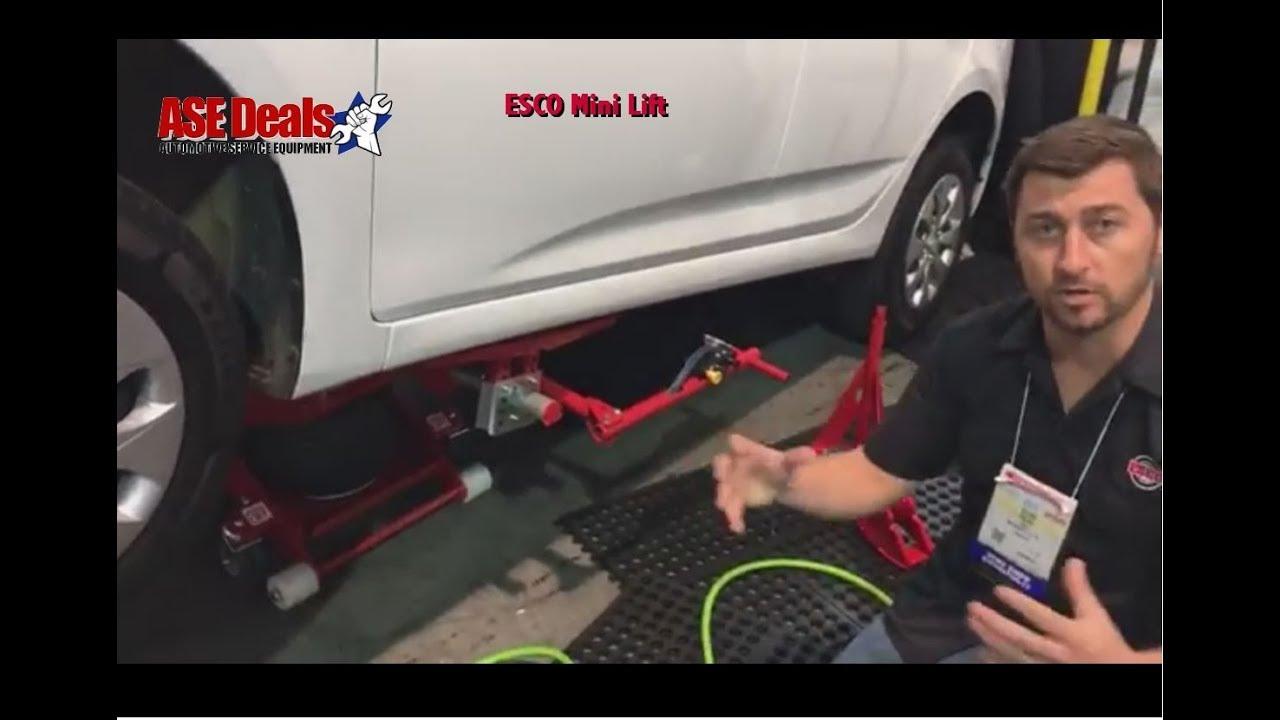 ESCO Mini Lift - Portable Car Lift