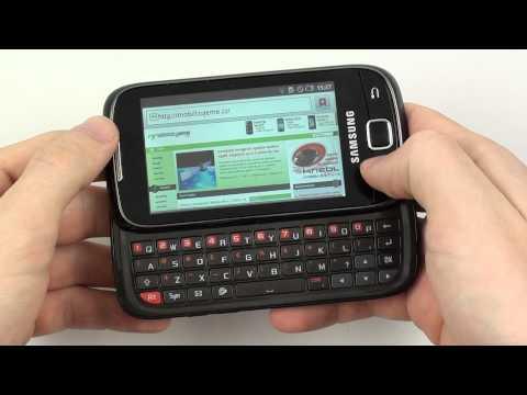 Samsung Galaxy 551 - internetový prohlížeč