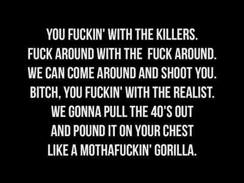 Fifth Element (ft. Twisted Insane)- Gorillas *LYRICS ON SCREEN*