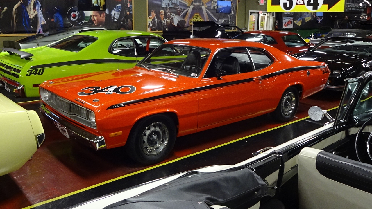 1972 plymouth duster in hemi orange paint 340 wedge engine sound my car story with lou. Black Bedroom Furniture Sets. Home Design Ideas