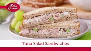 Tuna Salad Sandwiches   Betty Crocker Recipe