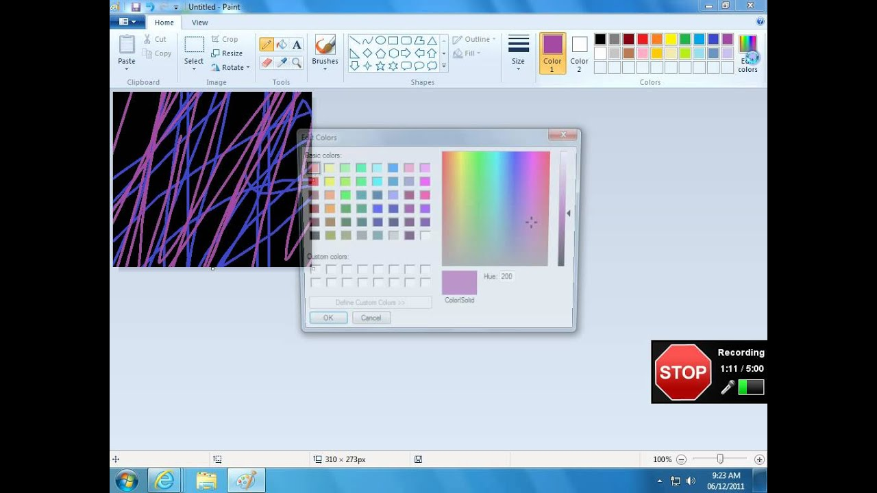 how to invert colors on paint youtube