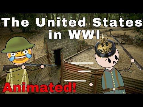 The U.S. in WW1 (Animation)