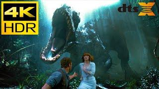 4K HDR ● Dino Attack (Jurassic World) ● DTS:X