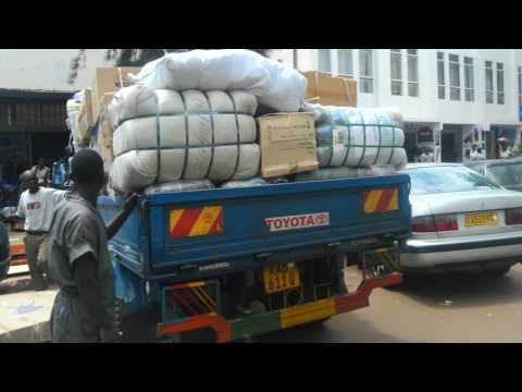 Kigali City 2016 Back Of A Moto Taxi Travel Vlog