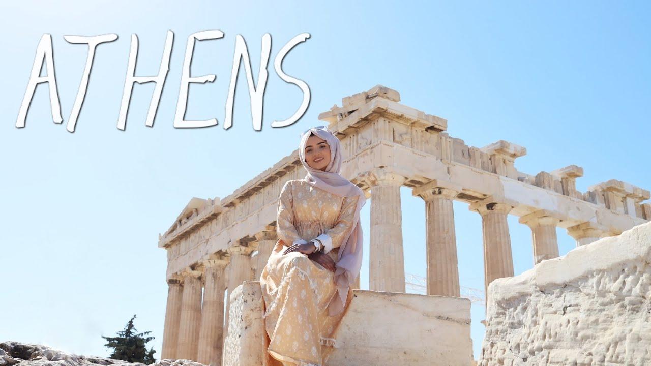 TRAVEL VLOG TO ATHENS, GREECE   SAIMASCORNER +Daniel Wellington AD