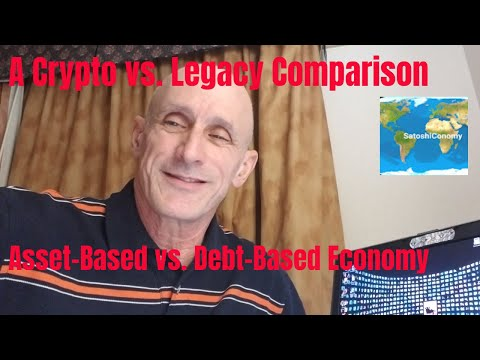 SatoshiConomy -A Crypto vs. Legacy Comparison   Listen @ 1.5x speed for better listening experience