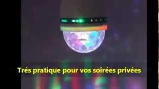 Ampoule Disco Led RGB Par Sabtec .wmv