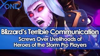 Blizzard's Terrible Communication Screws Over Livelihoods of Heroes of the Storm Pro Players