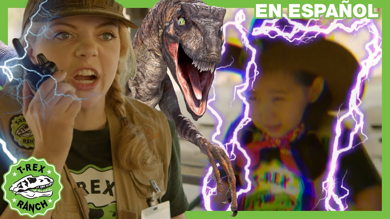 T- Rex Ranch - Consejos para sobrevivir en la zona peligrosa | Videos de dinosaurios para niños