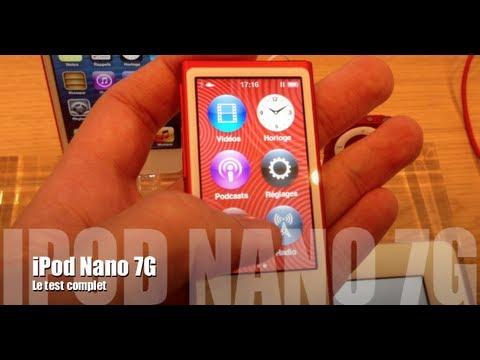 Test complet de l'iPod Nano 7G