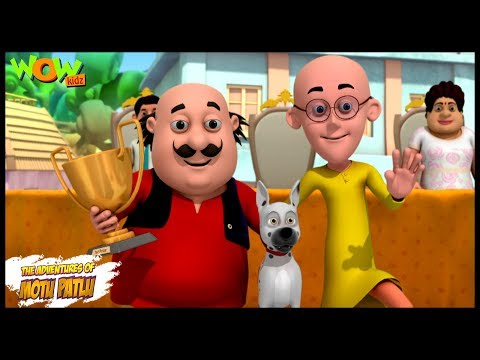 A Dog Show | Motu Patlu in Hindi -ENGLISH, SPANISH & FRENCH SUBTITLES! 3D Animation Cartoon for Kids