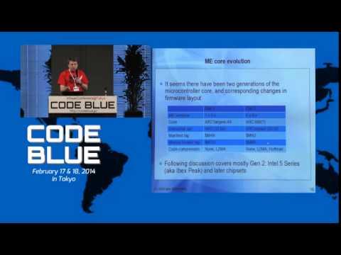 CodeBlue01 : Intel Management Engine Secrets by Igor Skochinsky