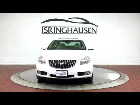 2011 Buick Regal CXL Russelsheim in Summit White - 000731