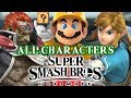 Super Smash Bros Ultimate All Characters Part 1