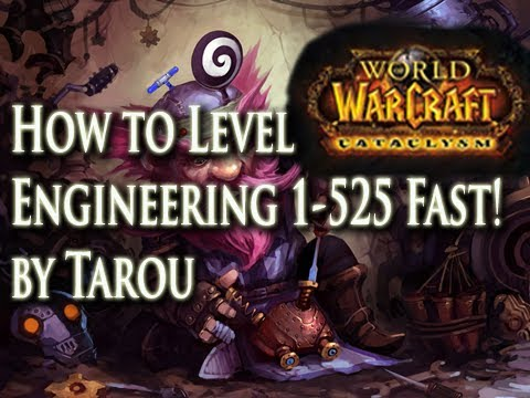 How To Level Engineering 1-525 Quick, Cheap, & Maybe Make Gold! - World Of Warcraft