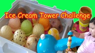 Ice cream tower playset