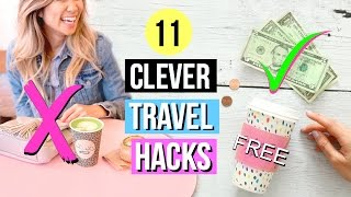 11 Travel Hacks Everyone Should Know! Clever & Simple Ideas!