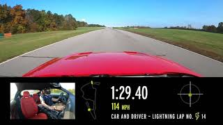 homepage tile video photo for 2020 Ford Mustang Ecoboost at Lightning Lap 2021