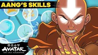 Aang's Bending Skill Tree  🌊⛰🔥🌪 Full Evolution | Avatar