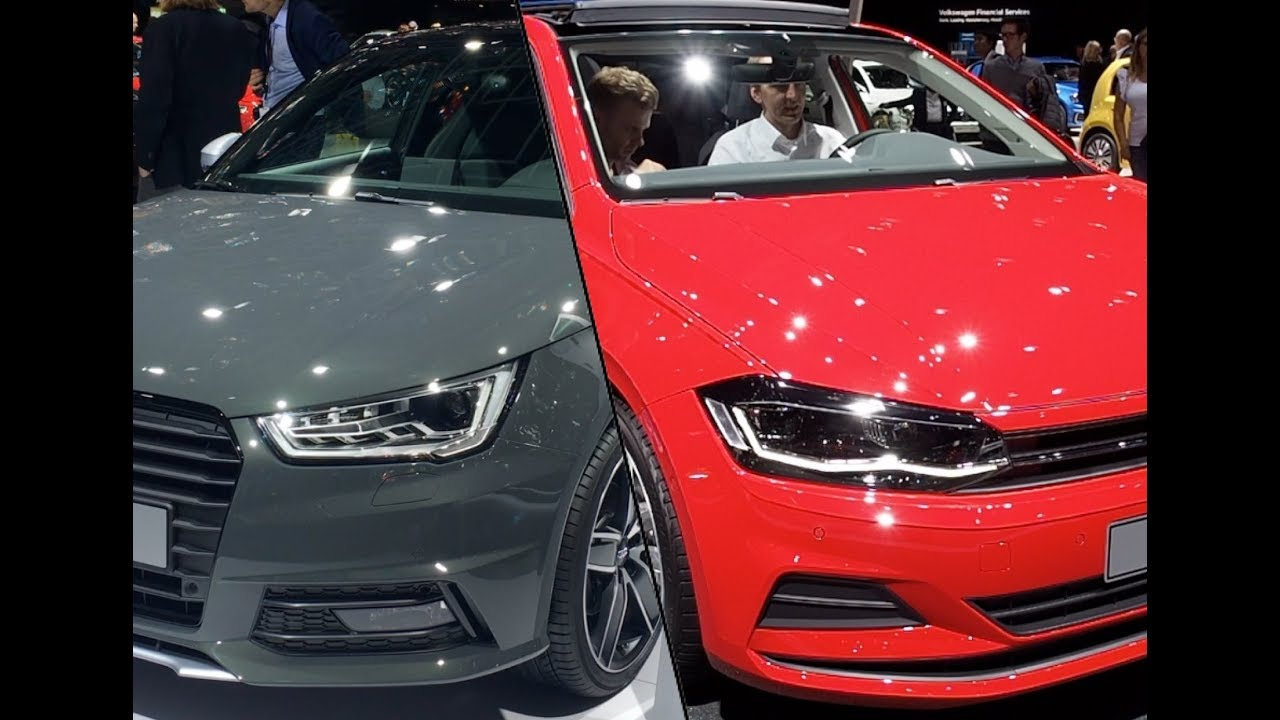 Volkswagen Polo Vs Audi A YouTube - Volkswagen audi
