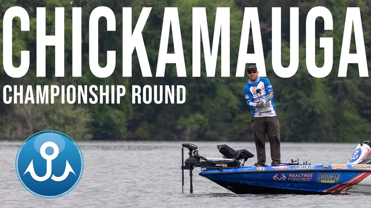 I Catch a GIANT on my LAST Cast! (Championship Round Lake Chickamauga)
