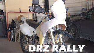 DRZ 400 Rally Fairing part 1
