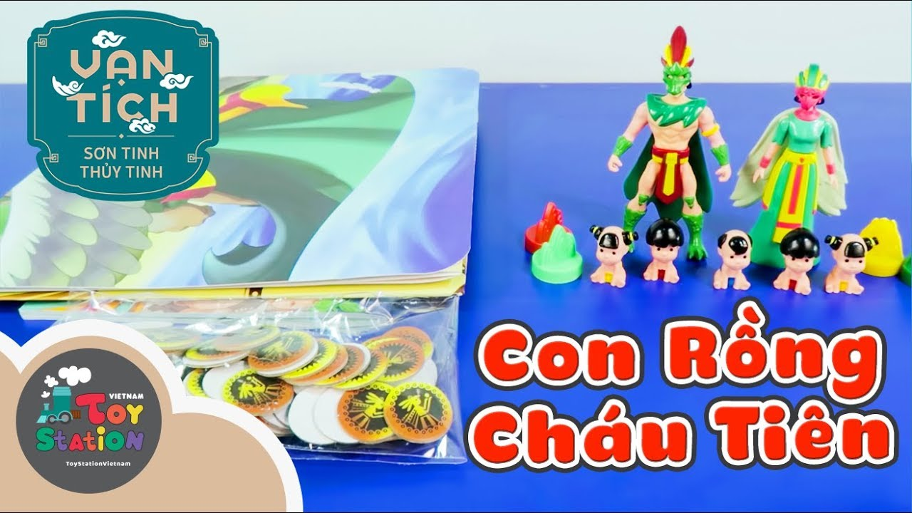 Bộ đồ chơi Con Rồng Cháu Tiên từ Vạn Tích ToyStation 183