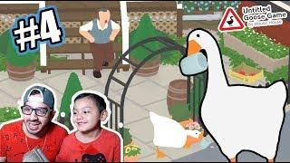 El Pato Loco en Mision Extrema | Untitled Goose Game 4 | Juegos Karim Juega