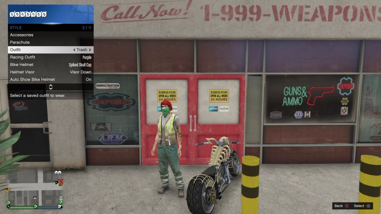 754616134d9  PATCHED GTA 5 ONLINE   NEW  SAVE ANY SKULL CAP OR BULLETPROOF HELMET WITH  BANDANA  OUTFIT GLITCH