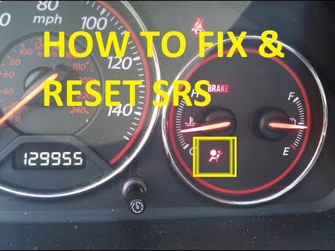 How to Fix & Reset SRS Light For Any Honda / Acura